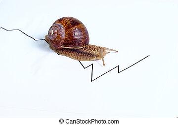 business - snail slow