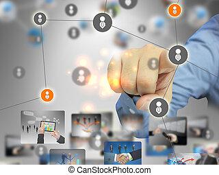 business social network