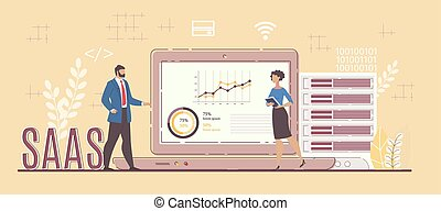 Business Software Service for Project Analysis