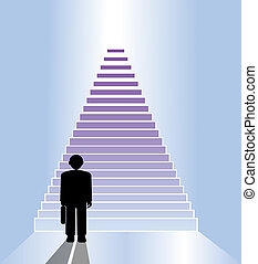business staircase