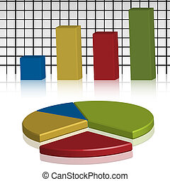 Business Statistics - Illustration of business statistics in...