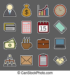 Business sticker Icon