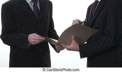 Business Stock Footage of Two Businessmen - Two Businessmen...