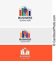 Business Stock Market Logo