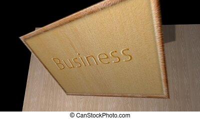 Business strategies notice board