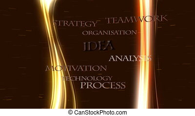 Business strategies, success - Business strategies leading...