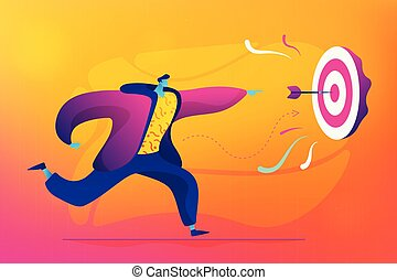 Business strategy concept vector illustration.