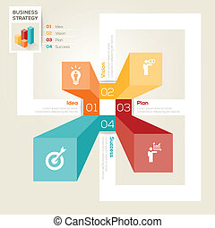 Business Strategy Design Layout