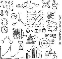 business strategy plan concept idea. Infographic Elements.