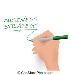 Business Strategy, Vector Illustration