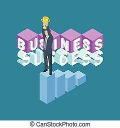Business success concept