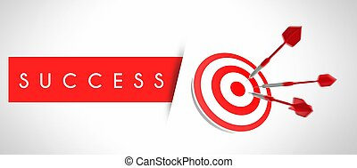Business success, concept of target