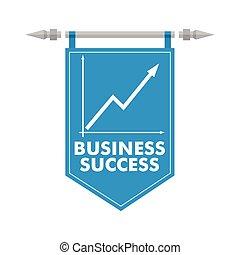 Business success.