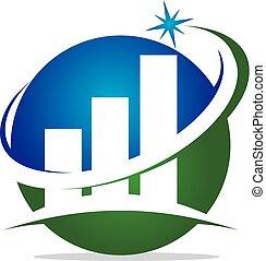 Business Success Logo Design Template Vector