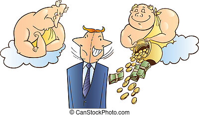 Business success metaphor - Illustration of business success...