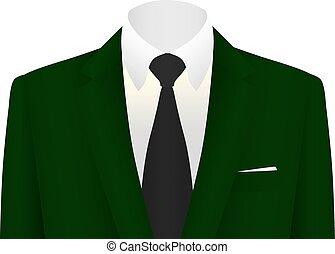 business suit vector