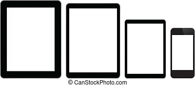 Business Tablets And Smart Phone - Black Business Tablets...