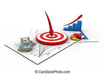 Business target concept