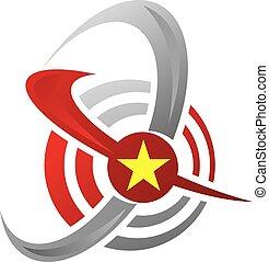 Business Target Logo Design Template Vector