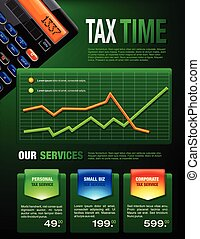 Business Tax Finances Brochure - Tax Services brochure...