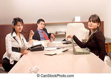 Business team at office