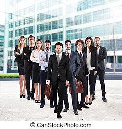 Business team corporate