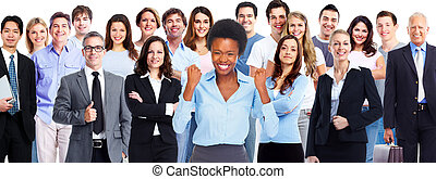 Business team.