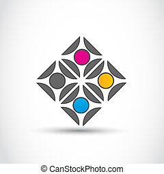 Business team logo