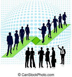 business team network