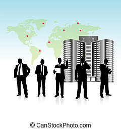 Business Team People Vector