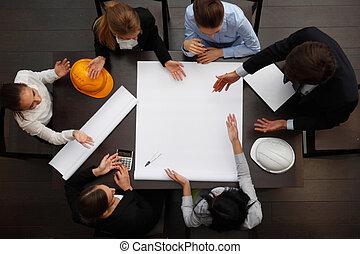 business team planning