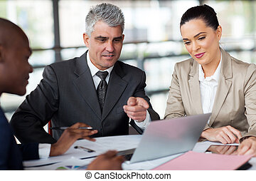 business team planning work