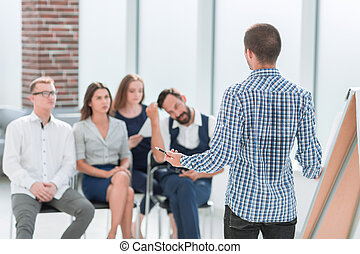 business team sitting in the conference room