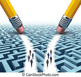 Business Team Solution Choice