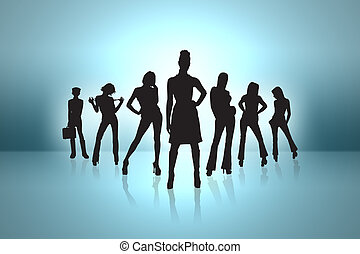 business team - super business team