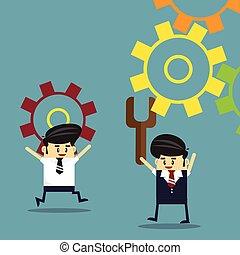 Business team work. success concept