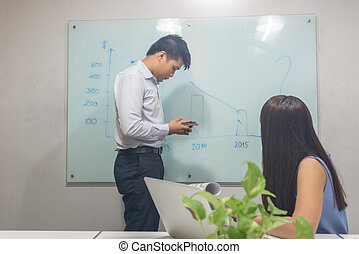 Business team working together in the meeting room