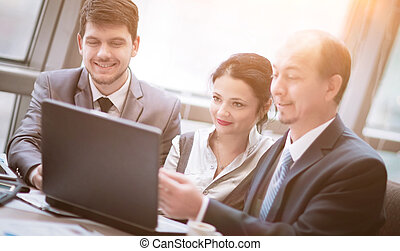 Business team working together to achieve better results