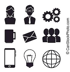 Business teamwork and leadership