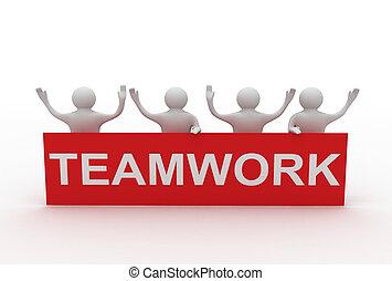 business teamwork concept