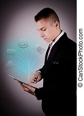 Business technologies in tablet