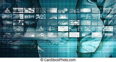 Business Technologies as a Conceptual Tech Art