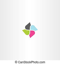 business technology abstract logo icon symbol