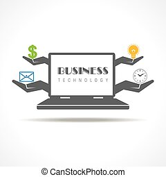 Business technology concept