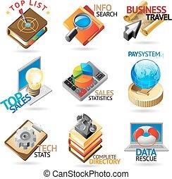 Business technology headers