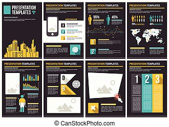 Business Template brochure