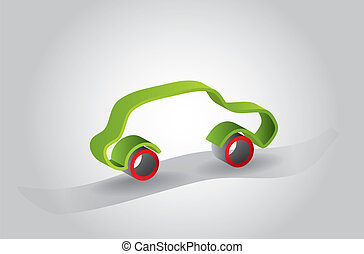 abstract car icon