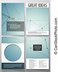 Business templates for brochure, magazine, flyer, booklet,...