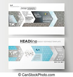 Business templates in HD size for presentation slides. Easy...