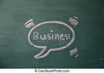 business text chalk